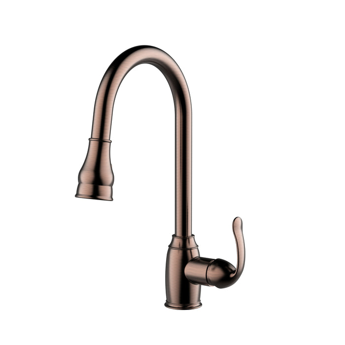 Bay Single Handle Kitchen Faucet with Single Handle 4