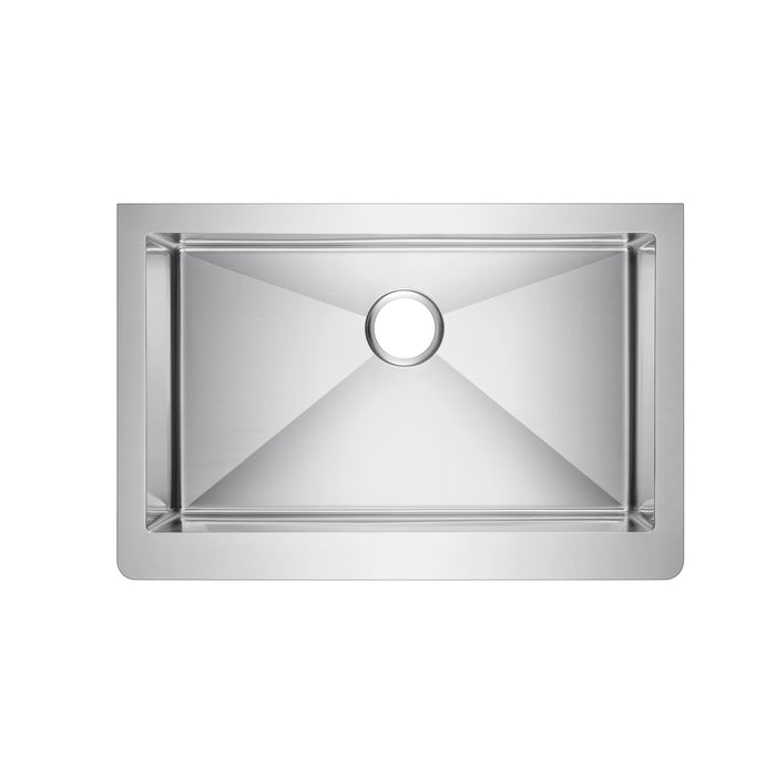 Adelphia Single Bowl Stainless Farmer Sink