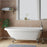 "Beaumont 70"" Acryic Roll Top Tub"