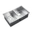 Geraldine Double Bowl Stainless Kitchen Sink