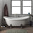 "Minerva 69"" Acrylic Double Slipper Tub"