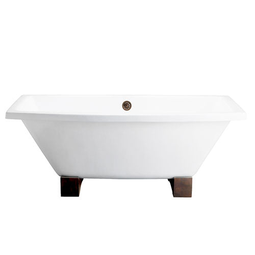 "Athens 67"" Cast Iron Tub"