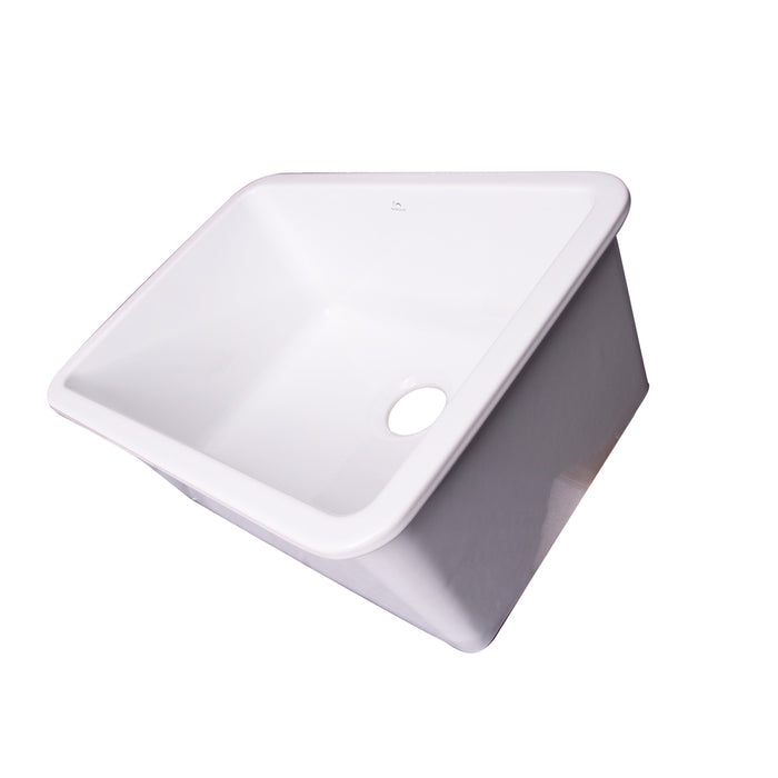 Pierina 30 Drop In Undermount Fireclay Kitchen Sink Barclay Products Limited