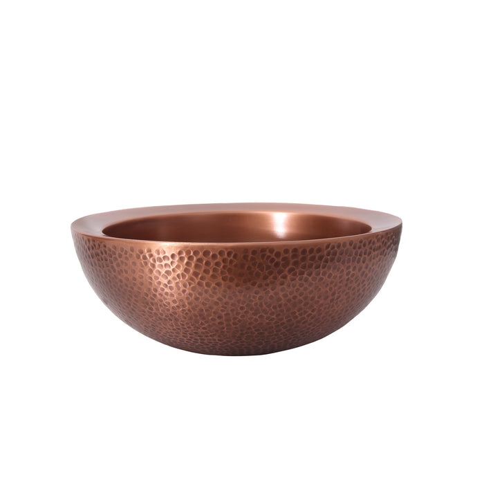 Boone Copper Double-Walled Basin