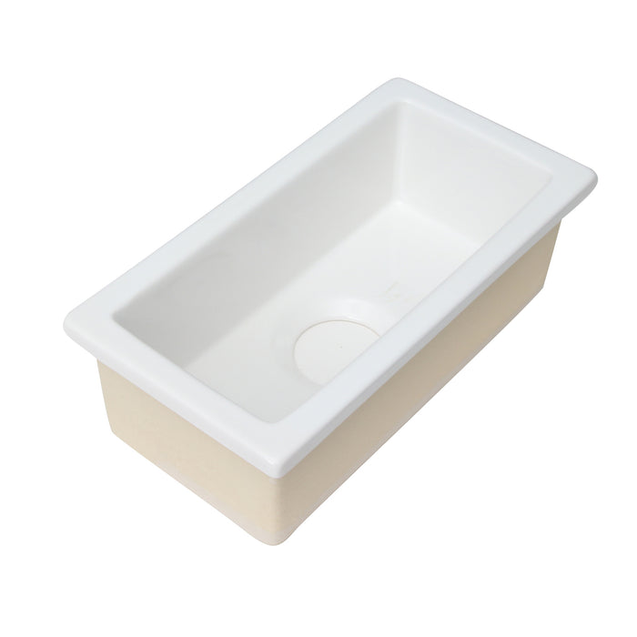 Julie Single Bowl Fireclay Kitchen Sink