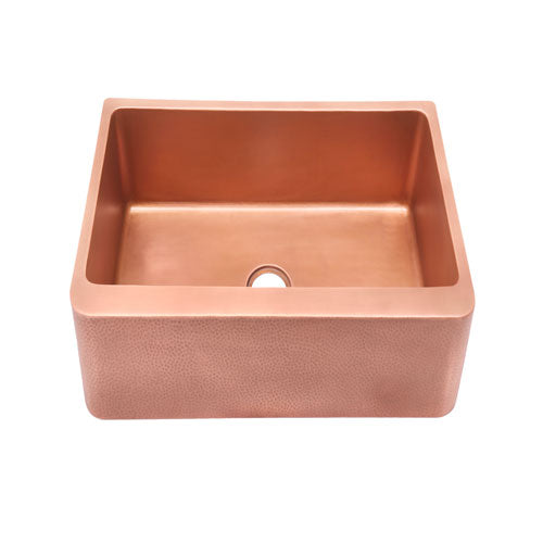 Barroca Single Bowl Copper Farmer Sink