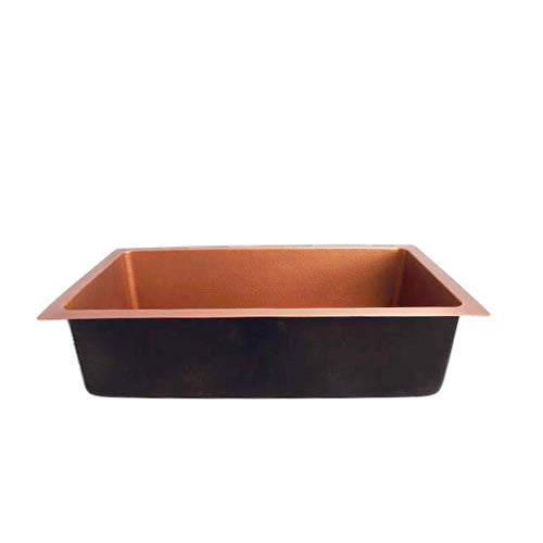 Rocio Single Bowl Copper Kitchen Sink