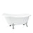 "Leandro 67"" Acrylic Slipper Tub"