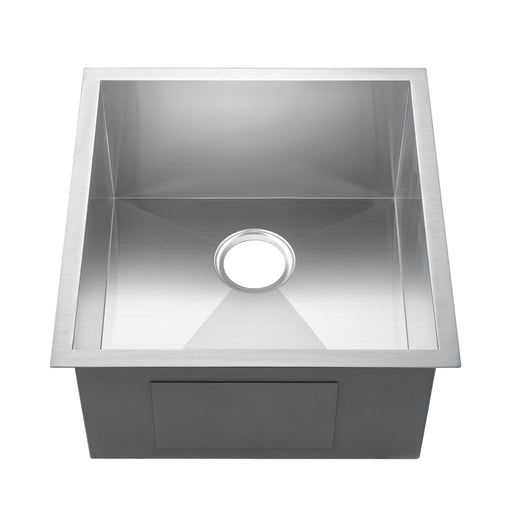 "19"" Telly Stainless Steel Prep Sink"