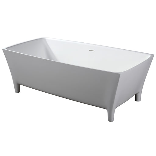 "Timon 67"" Freestanding Resin Tub"