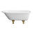 "Abbey 48"" Cast Iron Roll Top Tub"