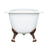"Halifax 61"" Cast Iron Slipper Tub"