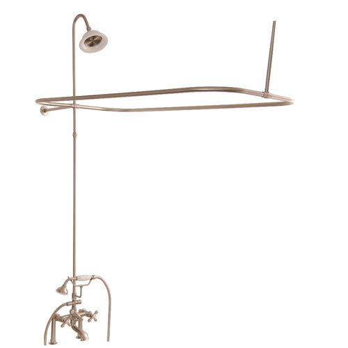Tub/Shower Converto Unit – Elephant Spout, Shower Ring, Riser, Showerhead