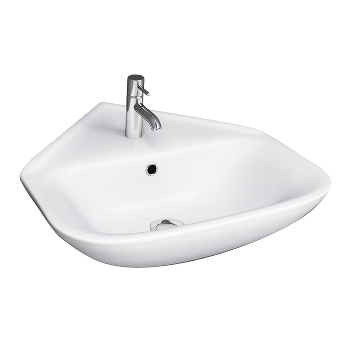 Eden 450 Corner Wall-Hung Basin