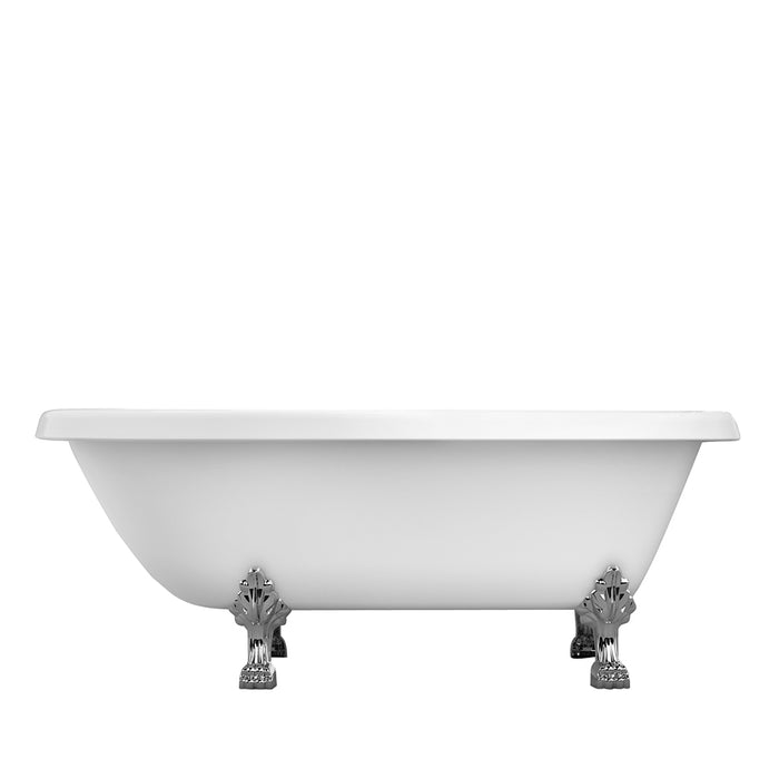 "Baroque 70"" Acrylic Roll Top Tub"