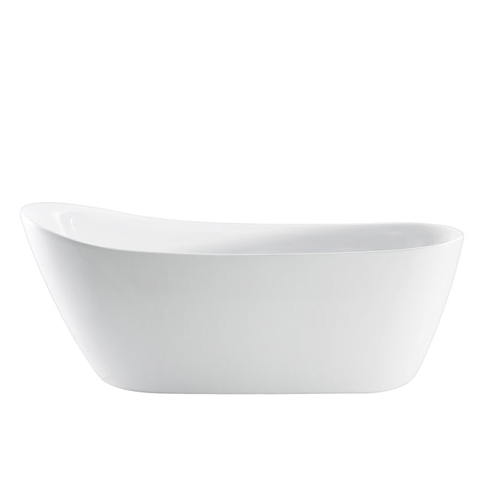"Lovina 66"" Acrylic Slipper Tub"