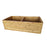 "Poco 36"" Double Bowl Bamboo Farmer Sink"