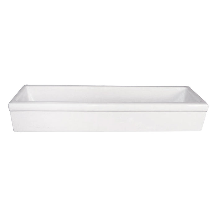 "48"" Fireclay Trough"