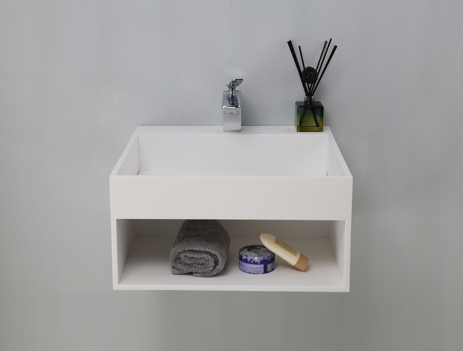 Simon Resin Wall-Hung Basin