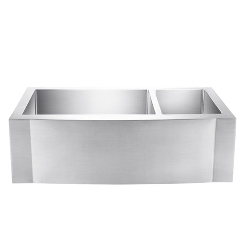 Cervantes Double Bowl Stainless Farmer Sink
