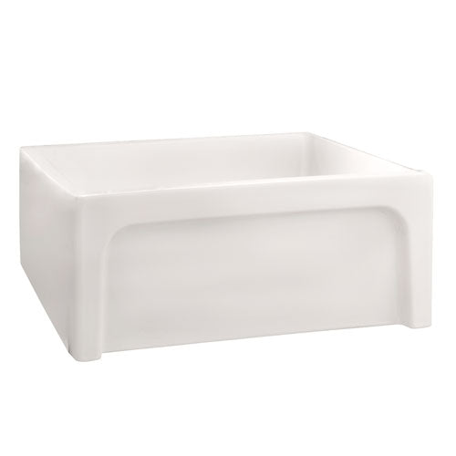Carmon 24″ Single Bowl Fire Clay Farmer Sink