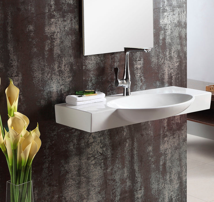 Waveland Wall-Hung Basin