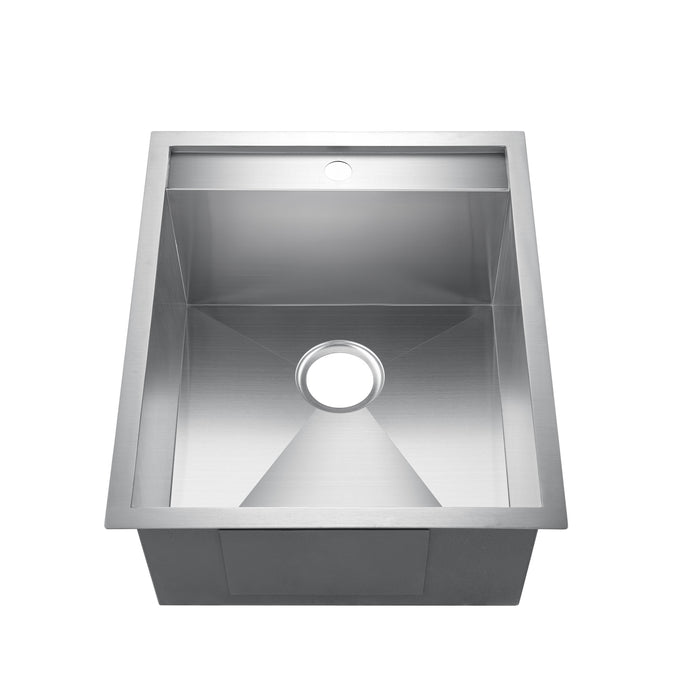 "19"" Thelma Stainless Steel Prep Sink"
