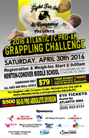 2016 Atlantic FC Pro-Am Tickets
