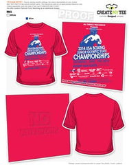 Official USA Boxing Junior Olympic State Championship Tee