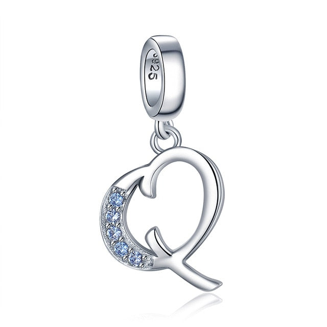 INITIALES - Charm Argent 925