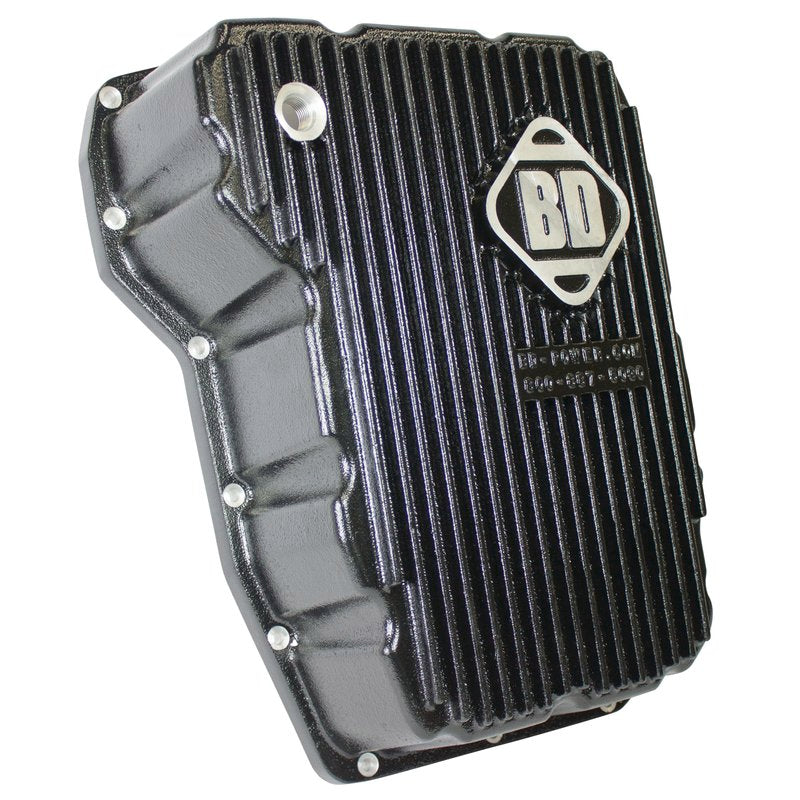 BD Diesel 1061525 Deep Sump Transmission Pan 2008-2010 Dodge for Cummins Diesel