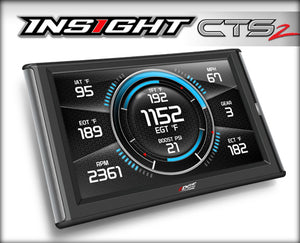 Edge 84130 Insight CTS2 Digital Gauge Monitor Universal