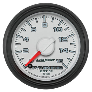"Auto Meter 8544 Factory Match Pyrometer 2-1/16"" Electrical Gen 3 Dodge"