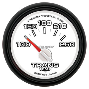 Auto Meter 8549 Gen 3 Dodge Factory Match Air-Core Trans Temp Gauge