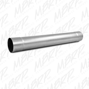 "Muffler Delete Pipe 4"" Inlet /Outlet 30"" Overall, AL"