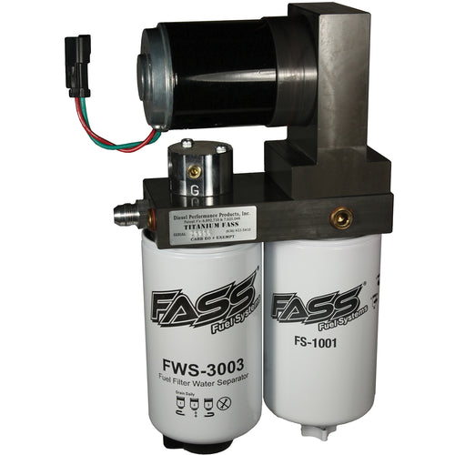 Fass Fuel T D10 125G Titanium Series Diesel Fuel Lift Pump 125GPH@45PSI Dodge Cummins 5.9L 1994-1998