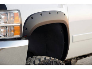 EGR 792855WB Matte Black Finish Bolt-On Look Fender Flare Set Dodge Ram 2500/3500