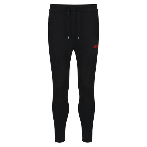 BLACK RED JOGGERS