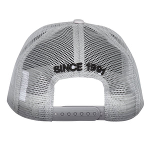 GREY BLACK MESH CAP