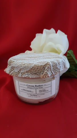 Cocoa Butter~All Natural Whipped Body Butter (Homemade)8oz