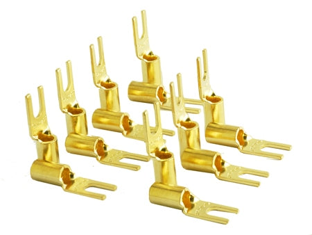Furutech FP-209-10(G) High Performance Gold plated Spade Connector 20pcs
