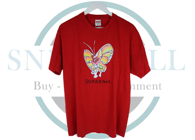 Supreme Gonz Butterfly Tee Red (USED)