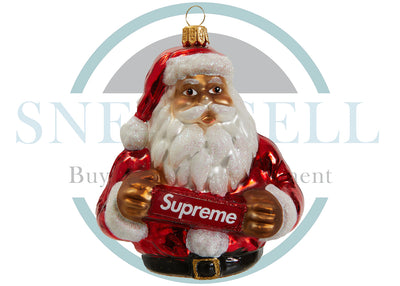 Supreme Santa Ornament Red
