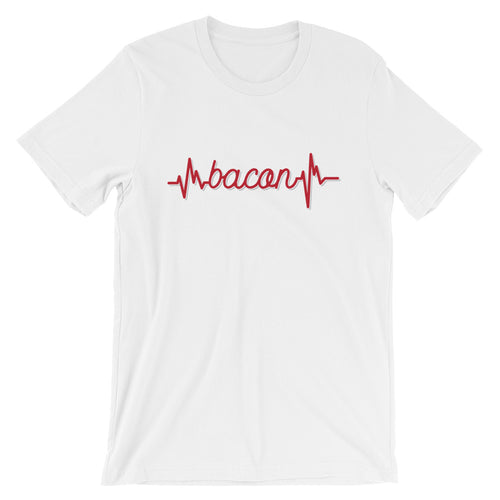 I Heart Bacon: Short-Sleeve Unisex T-Shirt