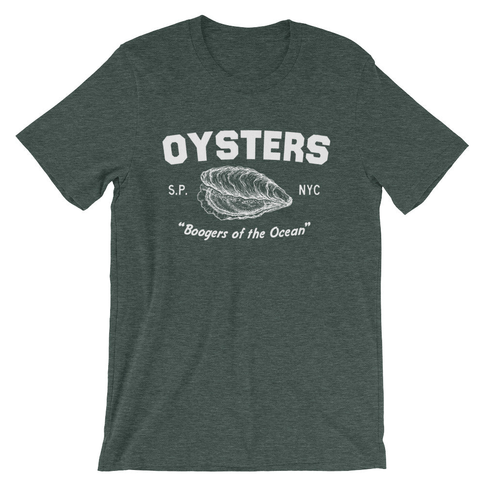 Oysters: Short-Sleeve Unisex T-Shirt