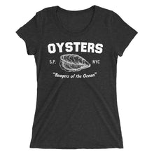 Oysters: Ladies' short sleeve t-shirt