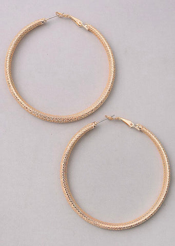 Hilary Rhinestone Hoops