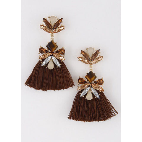 Frida Fringe Earrings