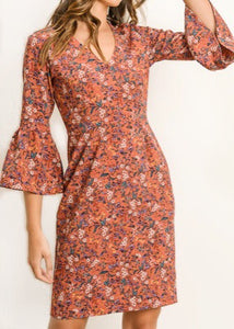 FALL FOR ME MIDI DRESS