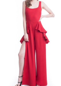 Samba Red Jumpsuit